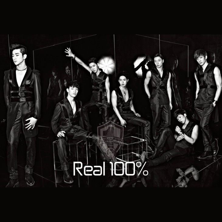 cover 100% Real 100% EP
